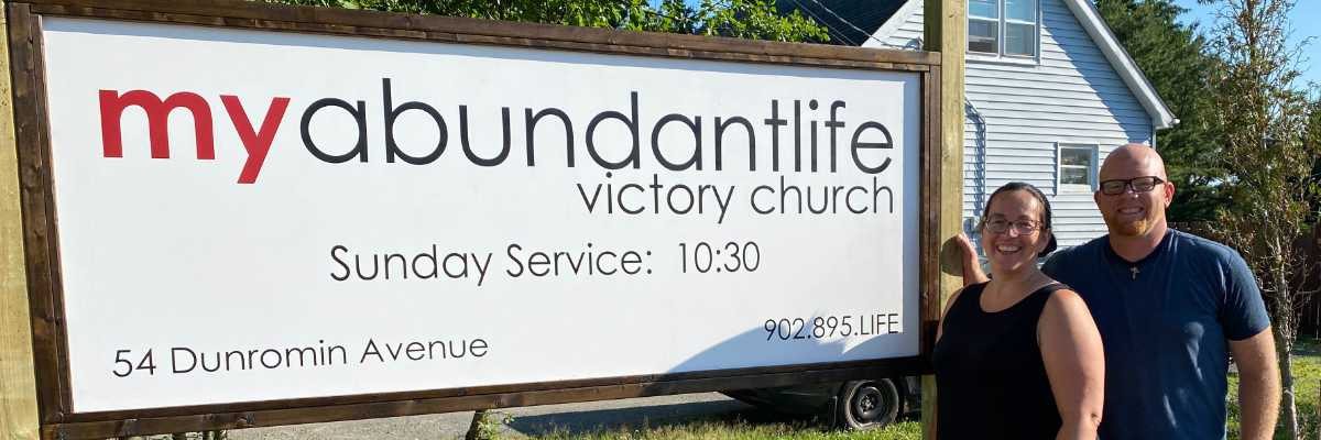 Abundant Life Victory Church Sign